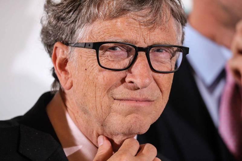 微軟創辦人比爾蓋茲(Bill Gates)。(法新社)