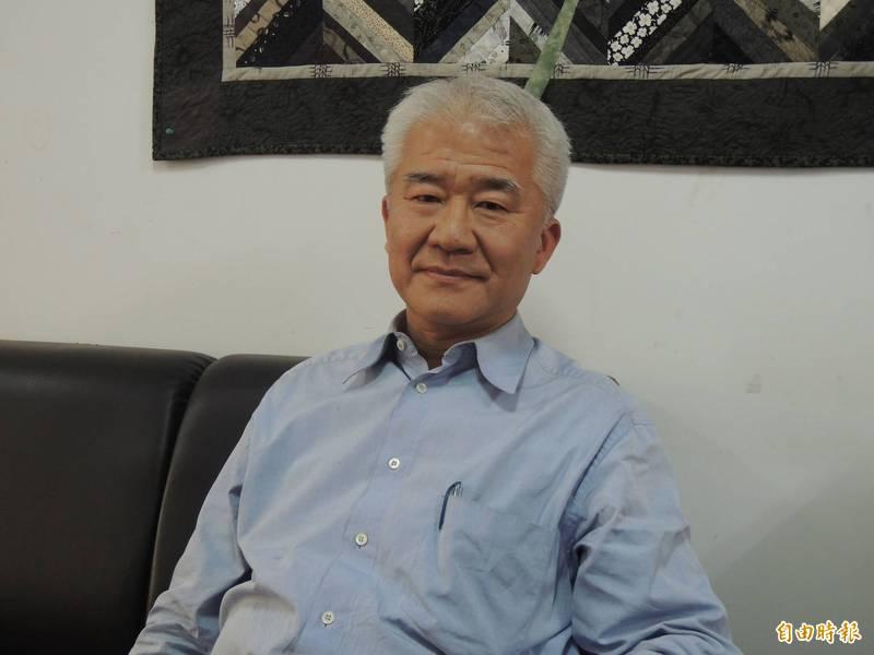 前新竹市長蔡仁堅。(資料照)