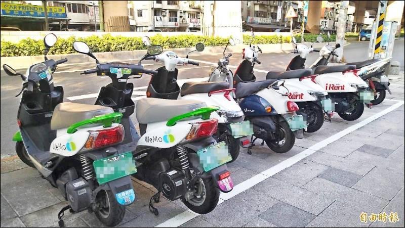 台北市交通局與3家共享運具業者合推1280定期票「加價購」方案。(資料照)