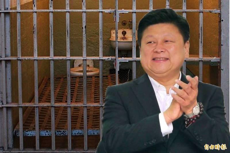 在院檢助攻下,人稱「花蓮王」的立委傅崐萁13日就可出獄。(本報合成照)