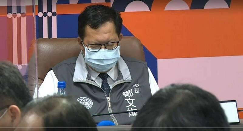 [新聞] 市長你累了嗎?鄭文燦主持防疫打瞌睡全入