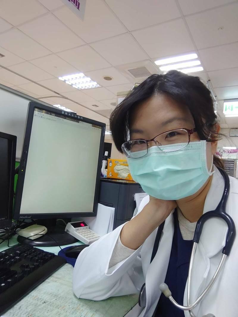 羅東聖母醫院急診部醫師郭恩悅,預計本月下旬重返工作崗位。(記者江志雄翻攝)