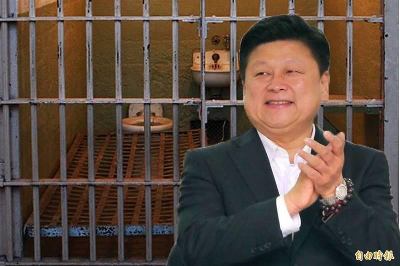 立委傅崐萁獲准假釋,高院今裁定保護管束。(本報合成圖)