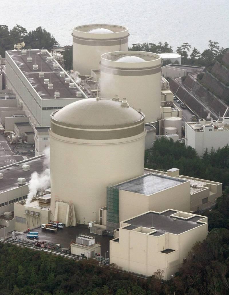 美濱核電廠3號機組將重啟運轉。(美聯社)