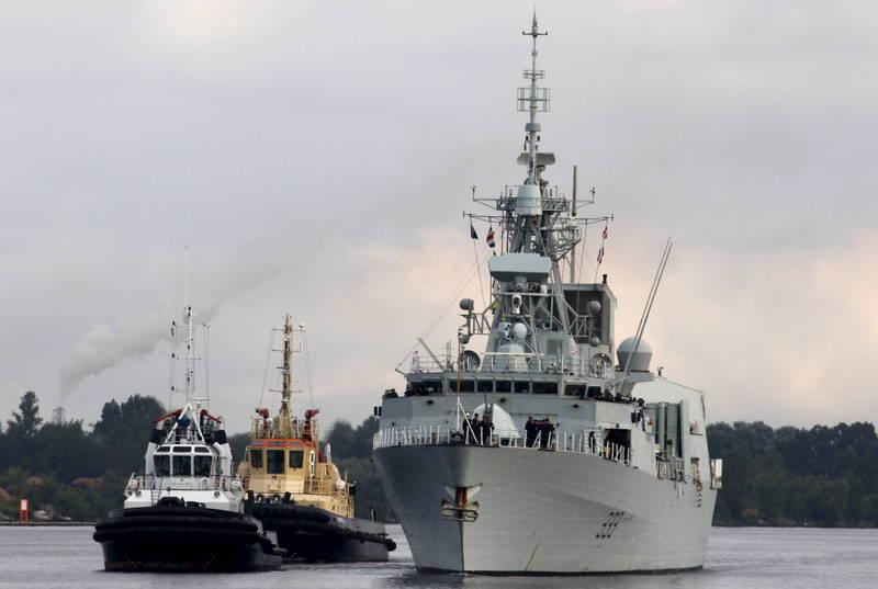 美國國務院批准出售AN/SPY-7長程辨識雷達系統給加拿大,該系統將安裝於加國下一代的巡防艦上,有望取代現役的「哈利法克斯級(Halifax-class frigate)」巡防艦。(歐新社)