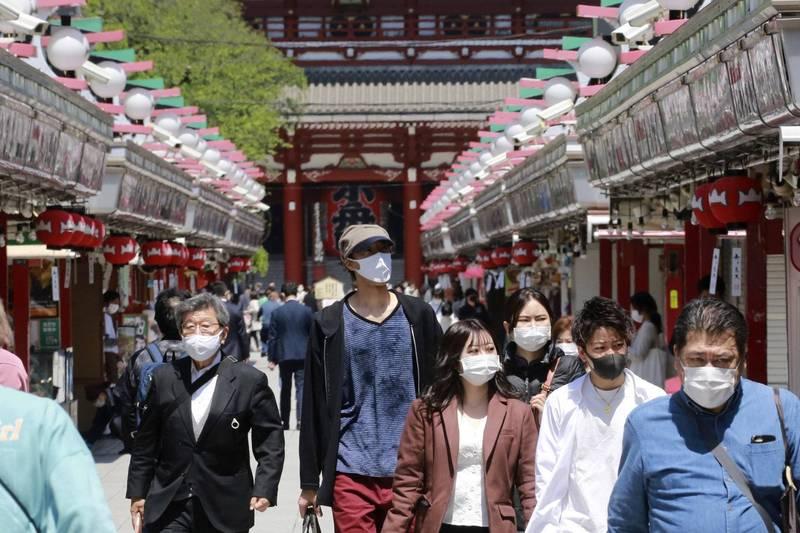 日本愛知縣目前是「實施緊急事態」的實施地區之一。(美聯社)
