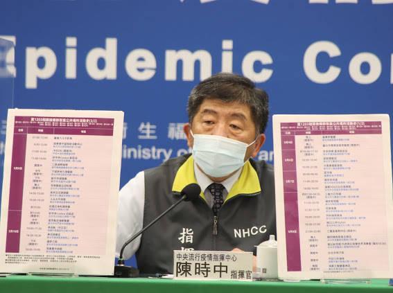 中央流行疫情指揮中心指揮官陳時中今日公布,國內今日新增25例武漢肺炎,其中13例是本土個案。(指揮中心提供)