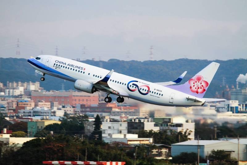 配合清零計畫2.0,帛琉泡泡暫時喊卡,華航客運航班6月15日前將大幅減班。(資料照,華航提供)