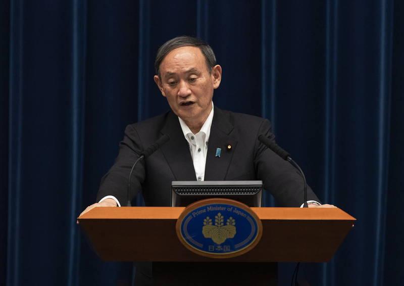 日本武漢肺炎第四波疫情延燒,政府擬擴大緊急事態宣言區域。(美聯社資料照)