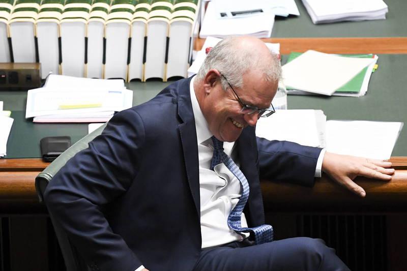澳洲總理莫里森(Scott Morrison)。(歐新社)