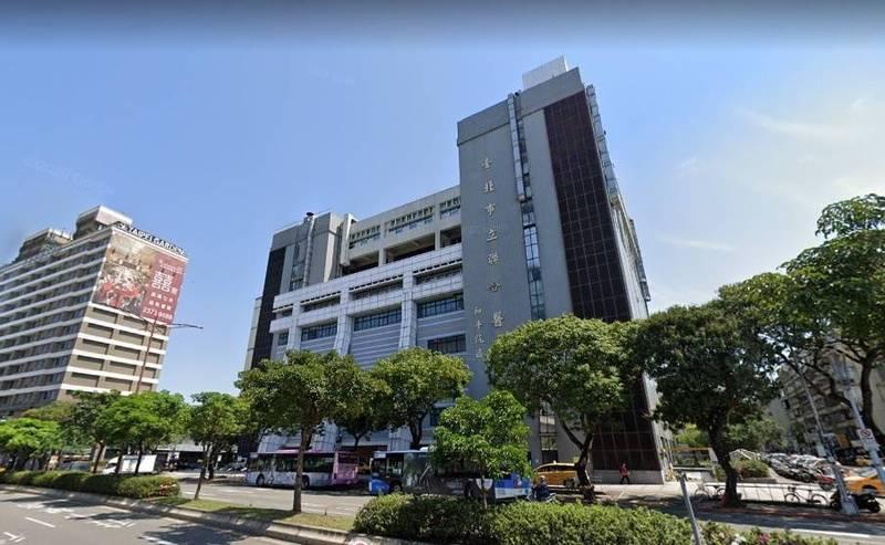 一名和平醫院醫護發文質疑孩子在校遭到校方不合理對待。圖為和平醫院。(翻攝google街景)