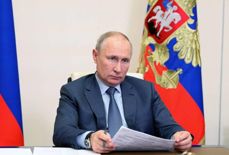 俄總統普廷認為烏克蘭已轉變為反俄國家。(歐新社)