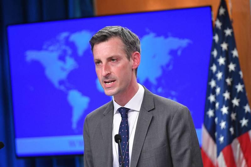 美國國務院發言人普萊斯(Ned Price)說,美國絕對支持台灣作為觀察員出席WHA。(法新社資料照)