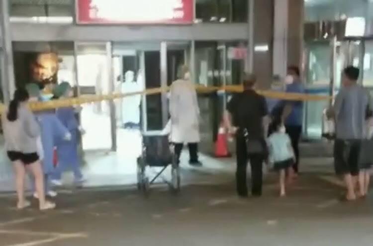 新竹縣今天出現3起本土確診病例,縣府衛生局追蹤3名患者足跡後,確定他們發病後並無在縣內公共場所活動。(圖由讀者提供)