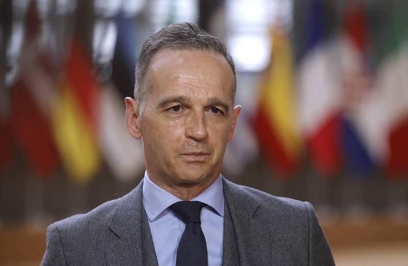 德國外交部長馬斯批評中國的「疫苗外交」,更多地是自利,而非急需疫苗的國家的利益。(歐新社檔案照)