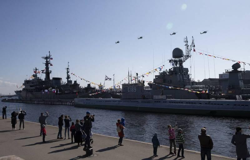 俄羅斯海軍今年將接收約40艘各級艦艇。(歐新社)