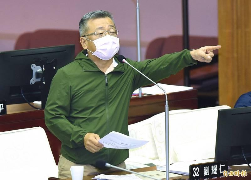 台北市議員劉耀仁。(資料照)