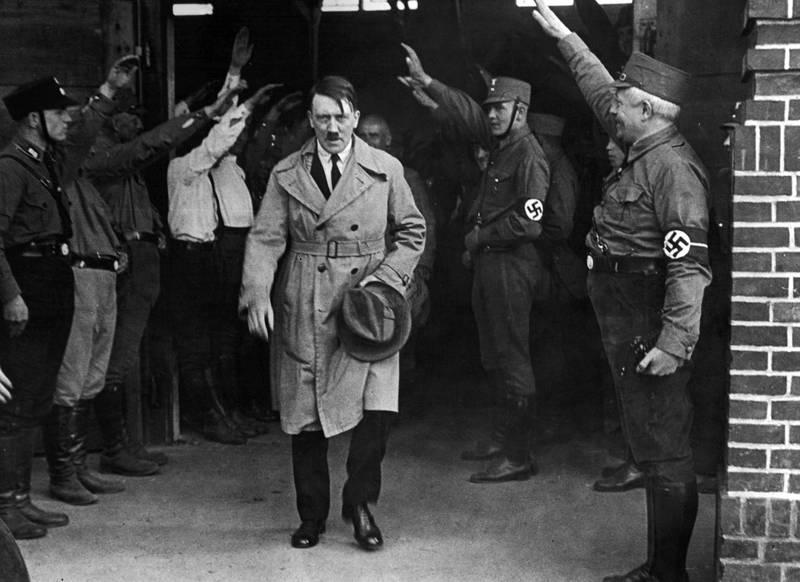 以巴衝突持續延燒,竟有CNN巴基斯坦特約作家稱現在世界需要一名希特勒。希特勒示意圖,與本新聞無關。(美聯社)