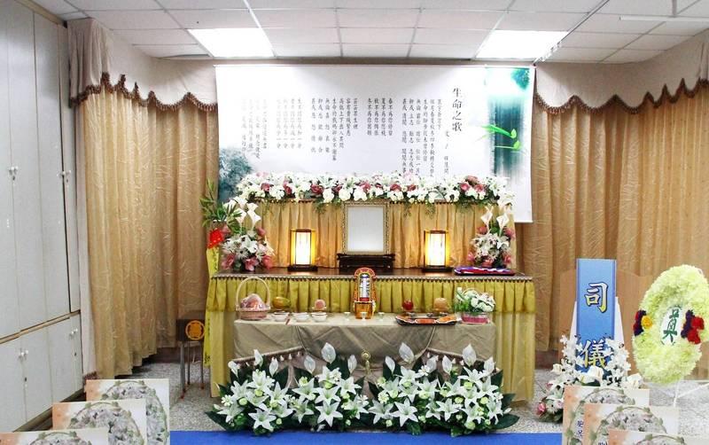 告別式中點主是重要儀式。(資料照,記者林宜樟攝)