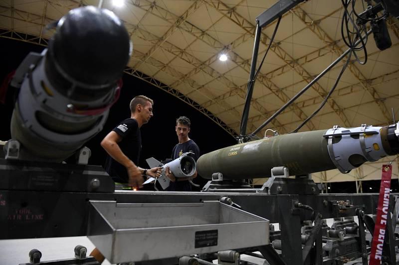 美政府同意出售以色列7.35億美元精準導引武器。示意圖,與本新聞無關。(歐新社)