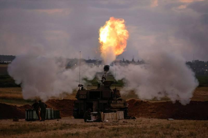 面對黎巴嫩一週內兩度攻擊,以色列進行反擊。圖為以色列砲兵。(路透)