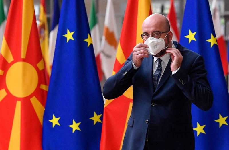 歐盟批准疫苗護照,有條件開放邊境。(法新社)