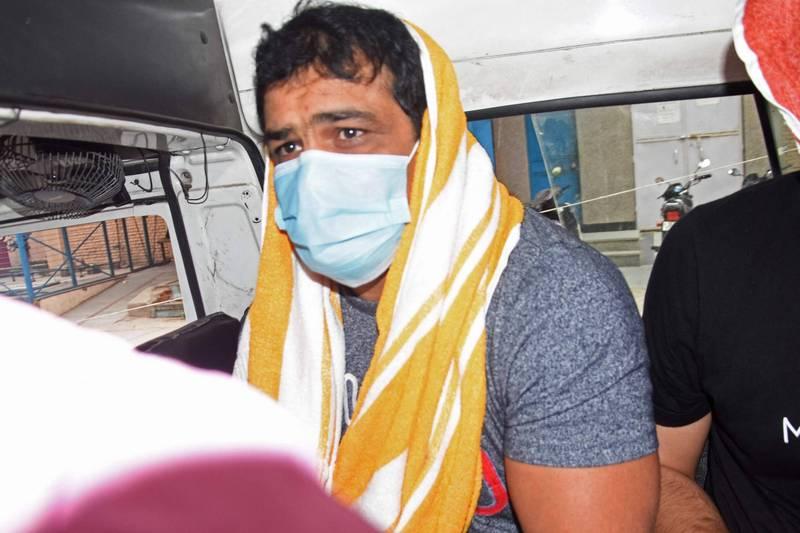 印度摔角手库马尔(见图)。(法新社)(photo:LTN)