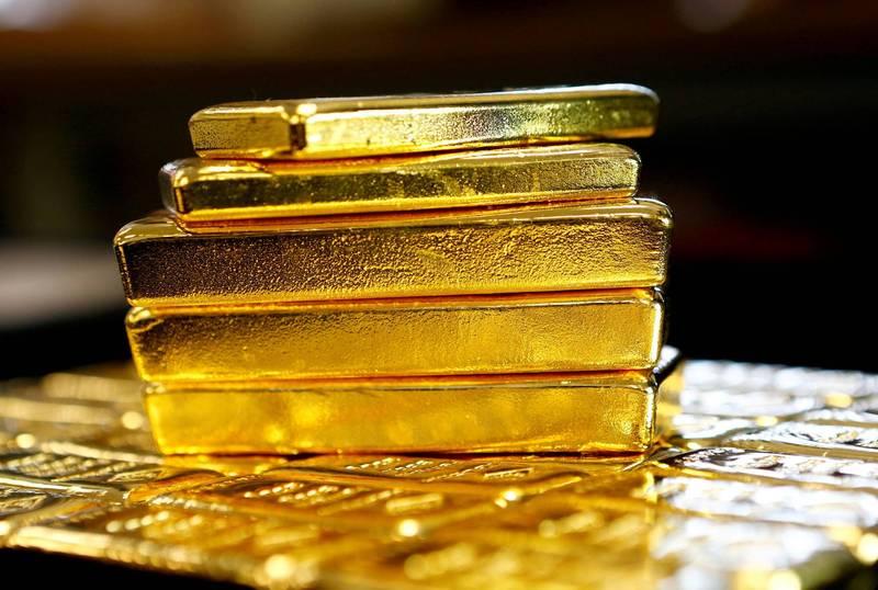 車手替詐團騙到2公斤黃金,抽1.1萬佣金卻判2年賠328萬。黃金示意圖。(路透)
