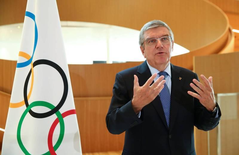 国际奥委会主席巴赫(见图)近日表示,为举办奥运,「我们必须作出牺牲」。(路透)(photo:LTN)