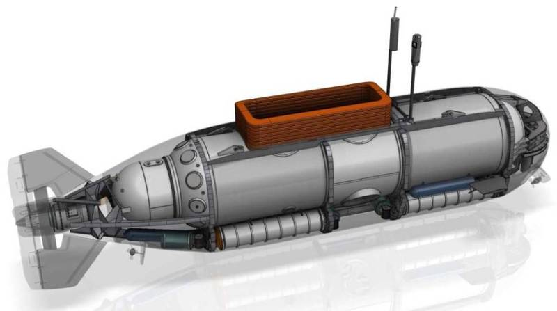 美國無人艦製造公司「MSubs」以「S351載人潛水器」為原型的載人潛水器,設計了新型的乾式戰鬥潛航載具(DCS),可望大幅提昇水下機動偵蒐能力。(圖翻攝自美國無人艦製造公司「MSubs」官網)