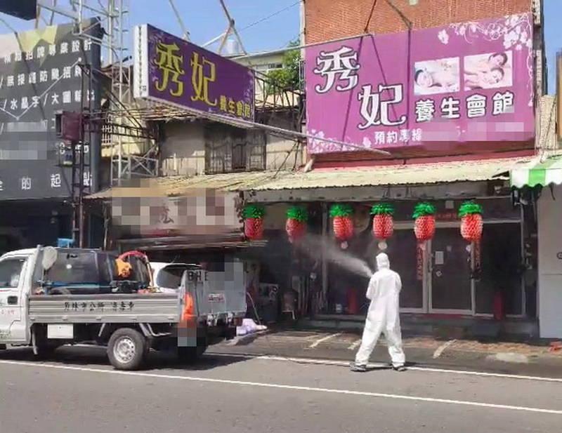 彰化縣長王惠美今公布新增13例確診,其中1例是養生會館司機的媽媽也被感染。(縣議員曹嘉豪提供)