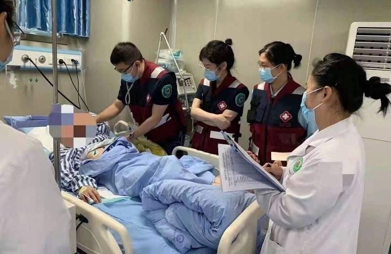 中國四川省1間食品加工廠有毒氣體洩露,一共造成7人死亡。(圖擷自微博)