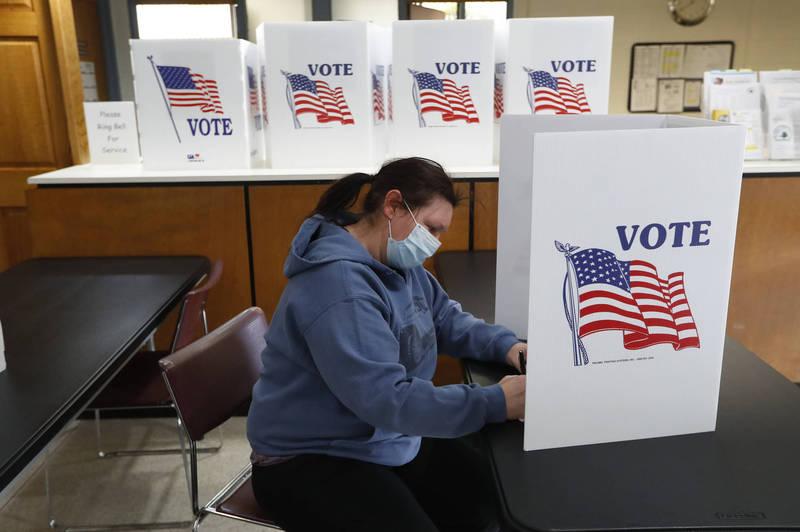 墨菲以蘇珊娜名義郵寄選票,遭到逮捕。此為示意圖。(美聯社)