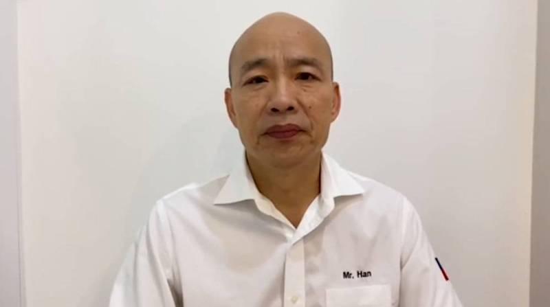 韓國瑜今日晚間再度表示,希望政府能放下手中權力,開放地方首長自行購買疫苗。(圖取自臉書專頁「韓國瑜」)