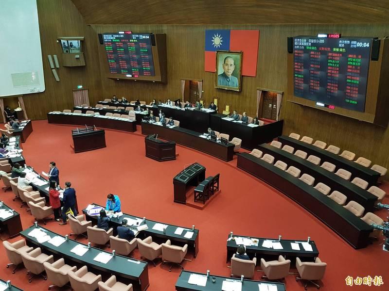 立法院院會。(資料照,記者謝君臨攝)