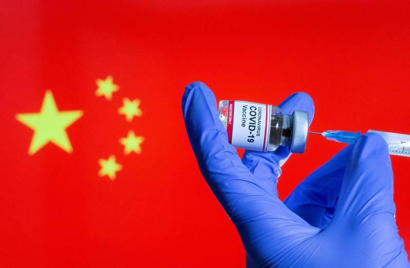 駐德代表謝志偉在臉書證實,陳時中提到中國阻我購買BNT疫苗,句句屬實。(路透檔案照)