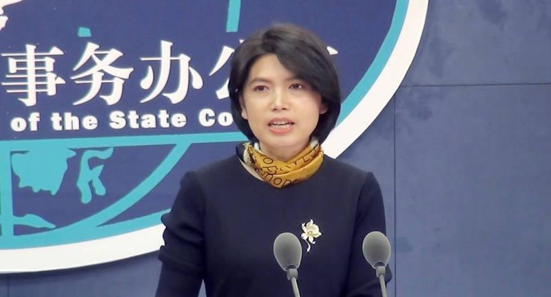 中國國台辦發言人朱鳳蓮27日抨擊,不經過上海復星醫藥集團購買BNT疫苗,直接向原廠買是「不循正途」。(中央社檔案照)