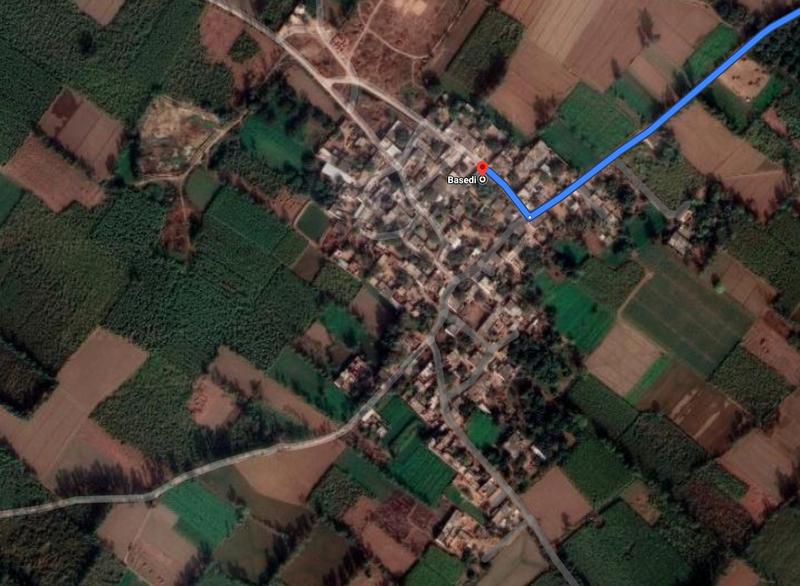 印度比哈爾邦扎法爾納加爾縣的Basedi村發生一件慘案,男子因連續15天求歡遭妻子拒絕,便狠心殺害她以及3名幼子。(圖取自google地圖)
