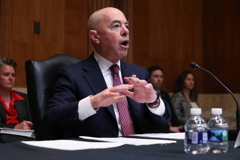 美国国土安全部部长马约卡斯(Alejandro Mayorkas)表示,剥削劳工的企业在美国没有立足之地。(法新社资料照)(photo:LTN)