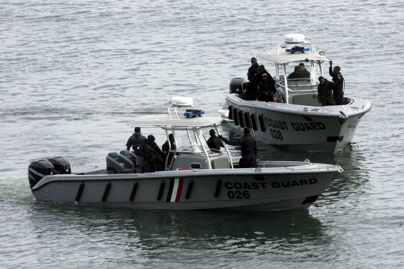 千里达及托巴哥惊见1艘漂浮船只载有14具严重腐烂的遗体,目前当局已展开调查。千里达海岸警卫队示意图。(欧新社)(photo:LTN)