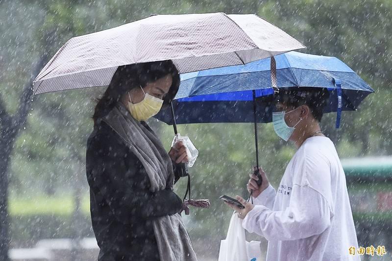 中南部面臨缺水危機,昨(29)日終於盼來梅雨鋒面。(資料照)