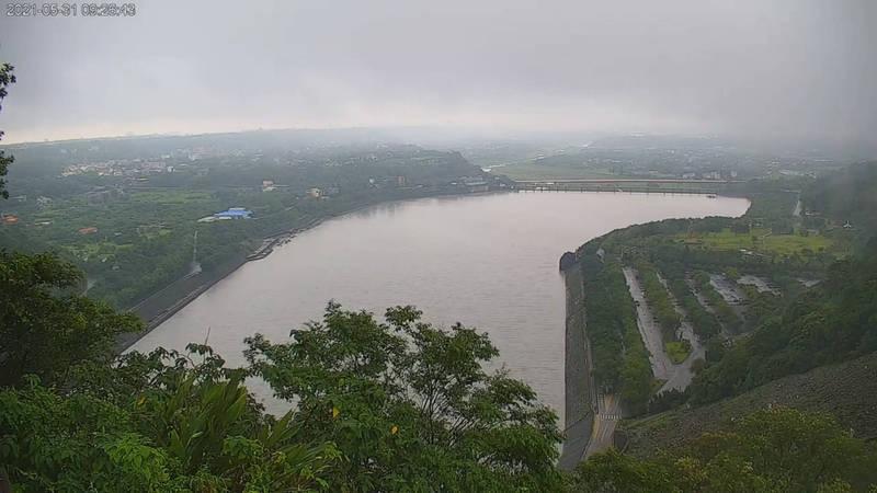 梅雨鋒面發威 石門水庫預估進帳1800萬噸