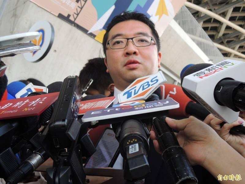 韓國瑜市長時期的青年局長林鼎超。(資料照)
