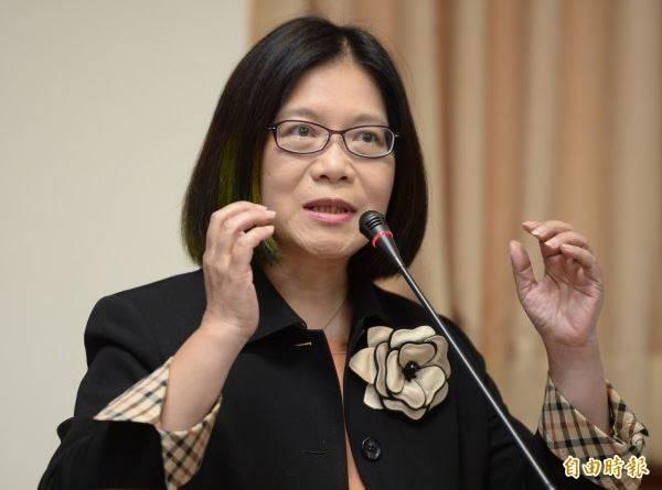 民進黨立委管碧玲(見圖)對此表示,據她所聞,目前只有郭台銘提議最具體,也沒有排除政府的角色,力拚在72小時內具備8大文件。(資料照)