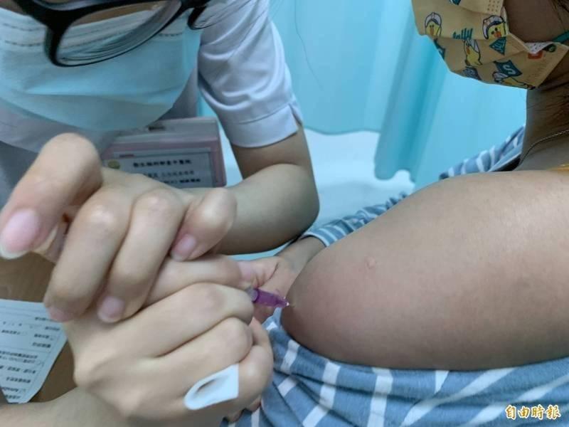 疫苗施打示意圖。(資料照)
