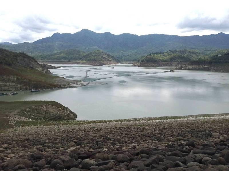 曾文水庫預估入流量約570萬立方米。(記者吳俊鋒翻攝)