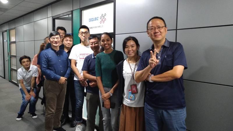 TTA輔導團隊「奕智鏈結(DoQubiz)」獲今年「台北國際電腦展創新設計獎」最高榮譽。(科技部提供)