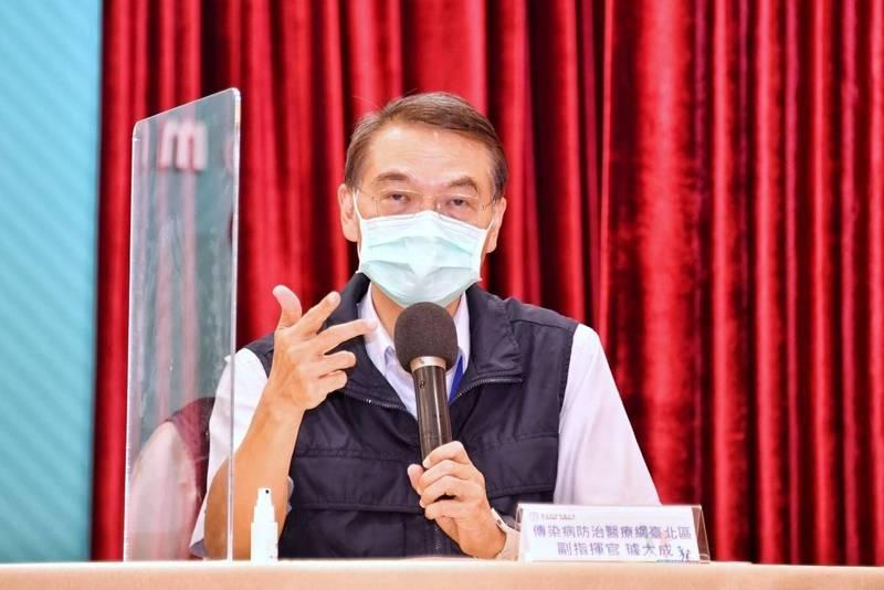 台北市聯合醫院(仁愛院區)傳出有醫護確診,台北市聯醫副總院長璩大成表示,大約3、4天前,有兩位同仁在不同地點發生感染。(北市府提供)