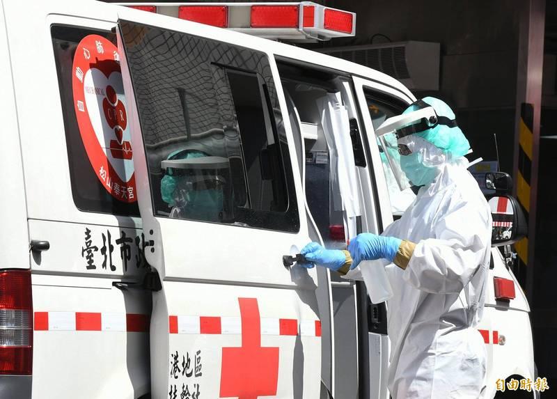 救護車示意圖。(資料照)