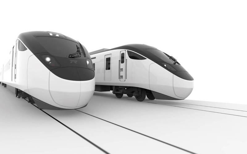 台鐵原定6月下旬抵台的新城際電聯車,受疫情影響將延後交車。(圖:台鐵局提供)